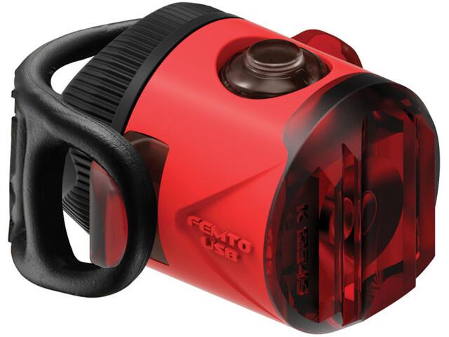 Lezyne LED Femto Drive Luz Trasera LED, red